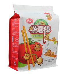 八边封零食塑料包装袋
