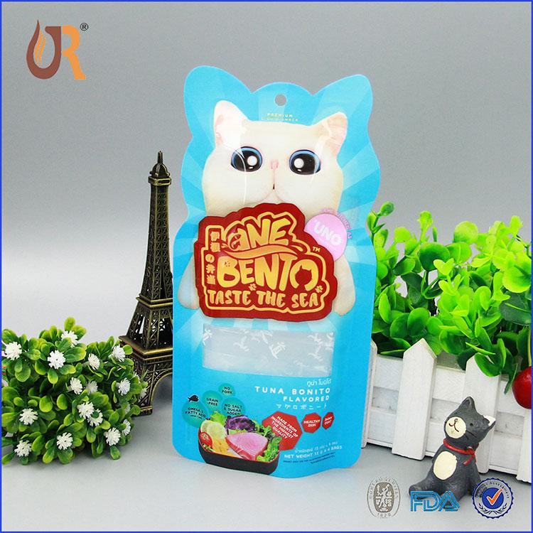 外贸异型猫粮袋