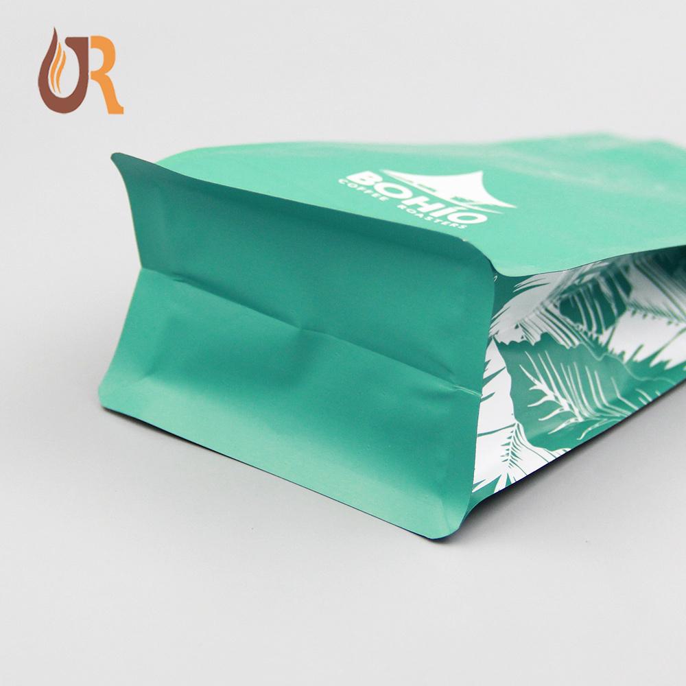 八边封袋 排气阀 (英文)包装袋