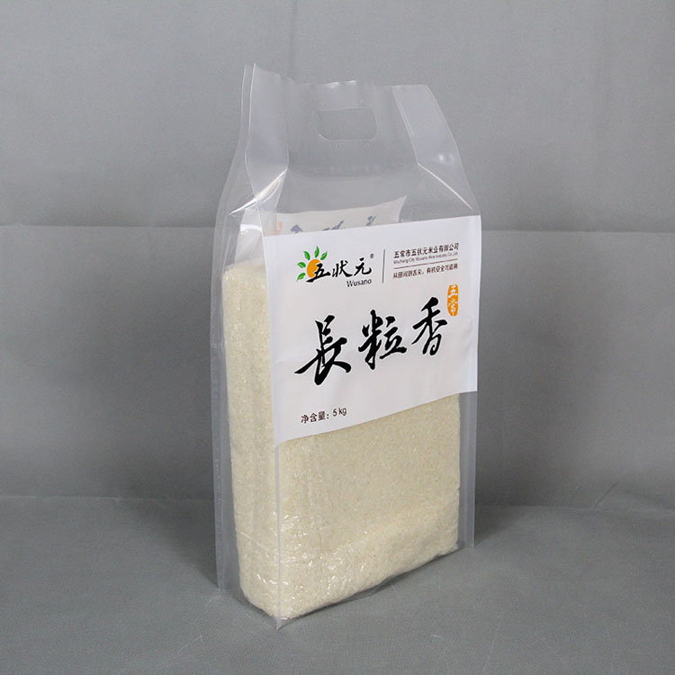 简洁5kg大米袋