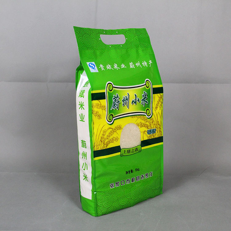 四边封5kg小米袋