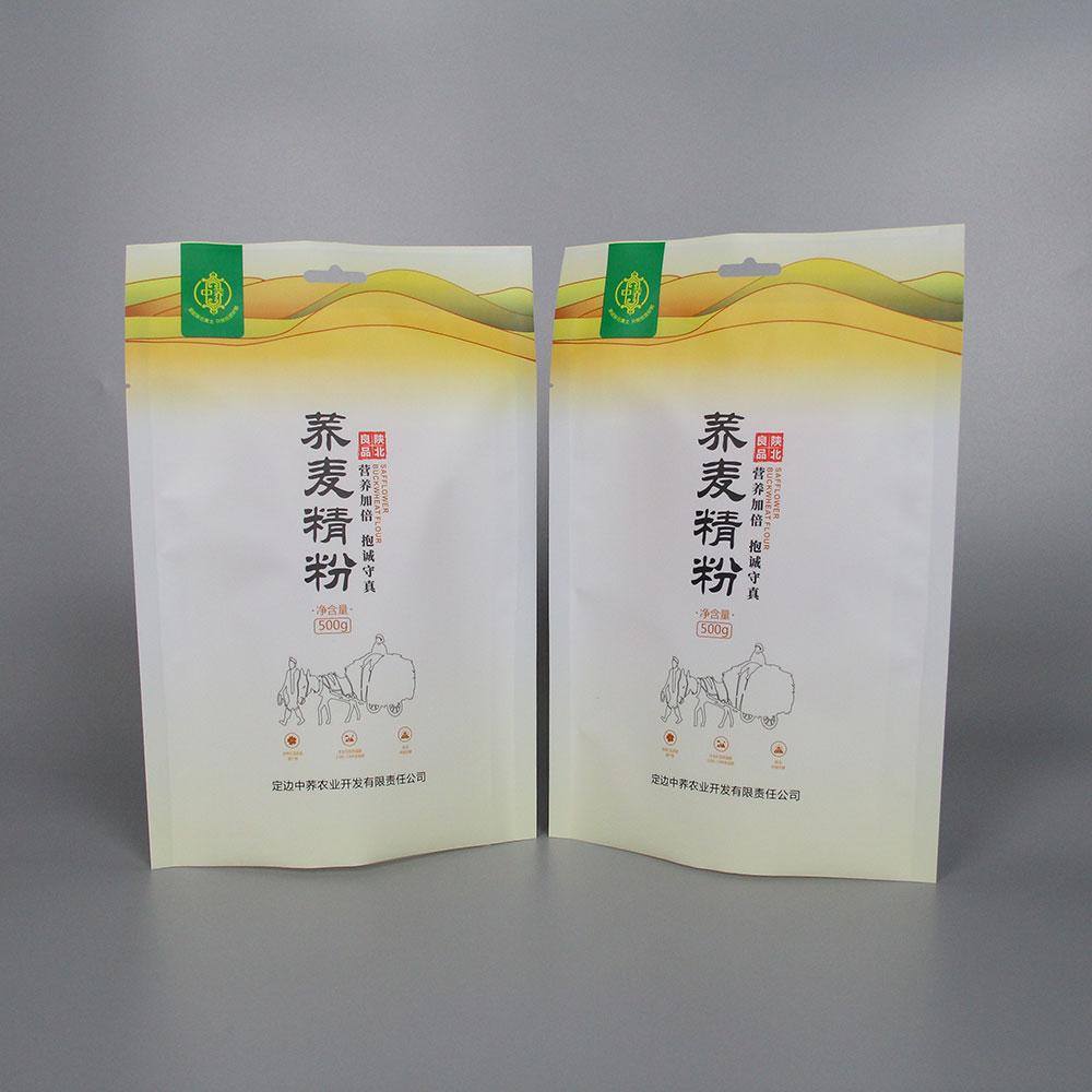 山药荞麦粉袋子